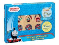 Thomas & Friends Wooden Dominoes and Track Puzzle Set